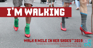 Walk a Mile in Her Shoes 2020 @ Main Street, Chambersburg