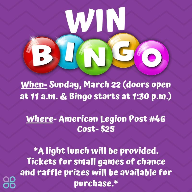 WIN Bingo @ American Legion Post #46